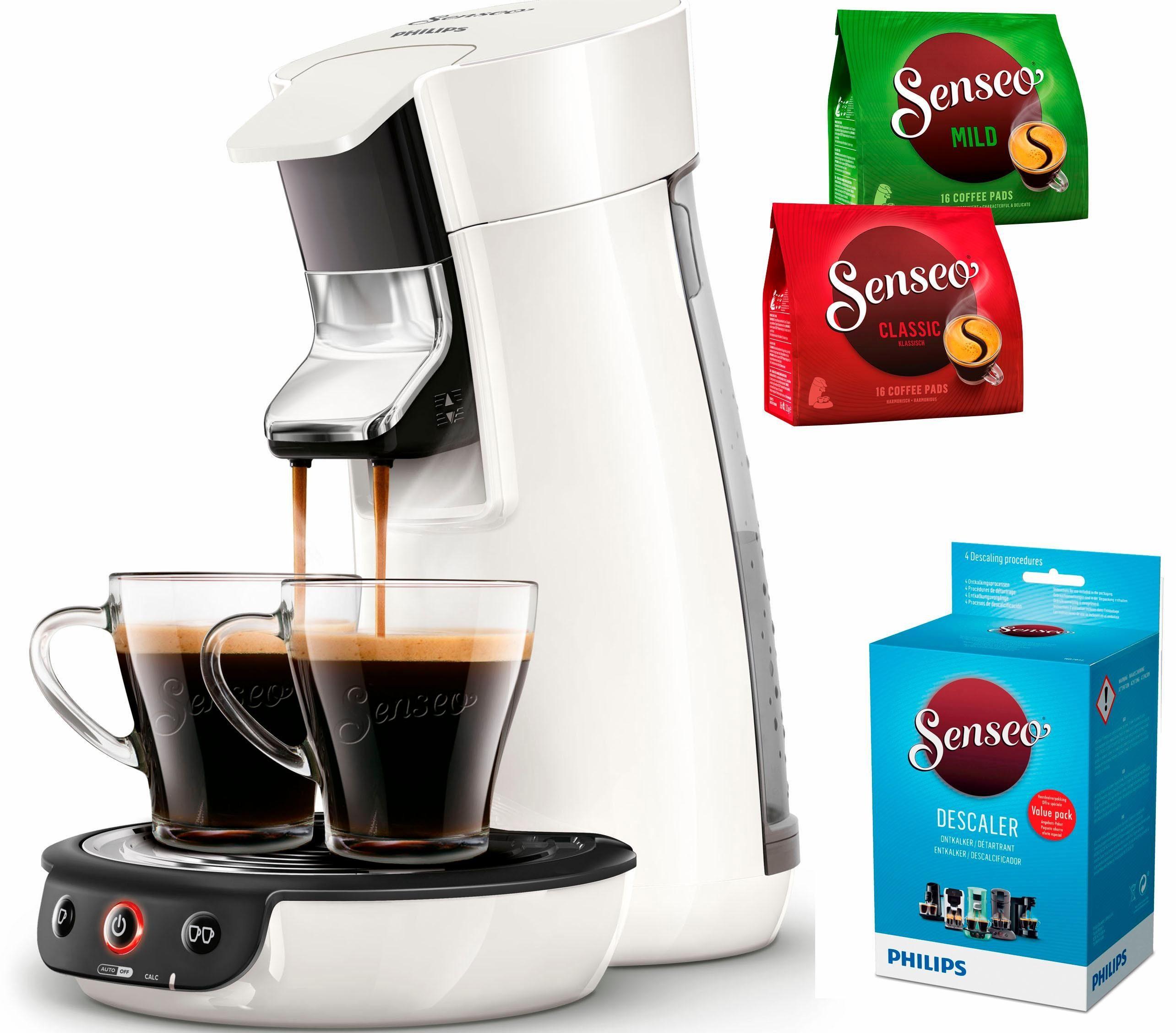 Senseo Kaffeepadmaschine SENSEO® Viva Café HD7829/00, inkl. Gratis-Zugaben im Wert von 14,- UVP