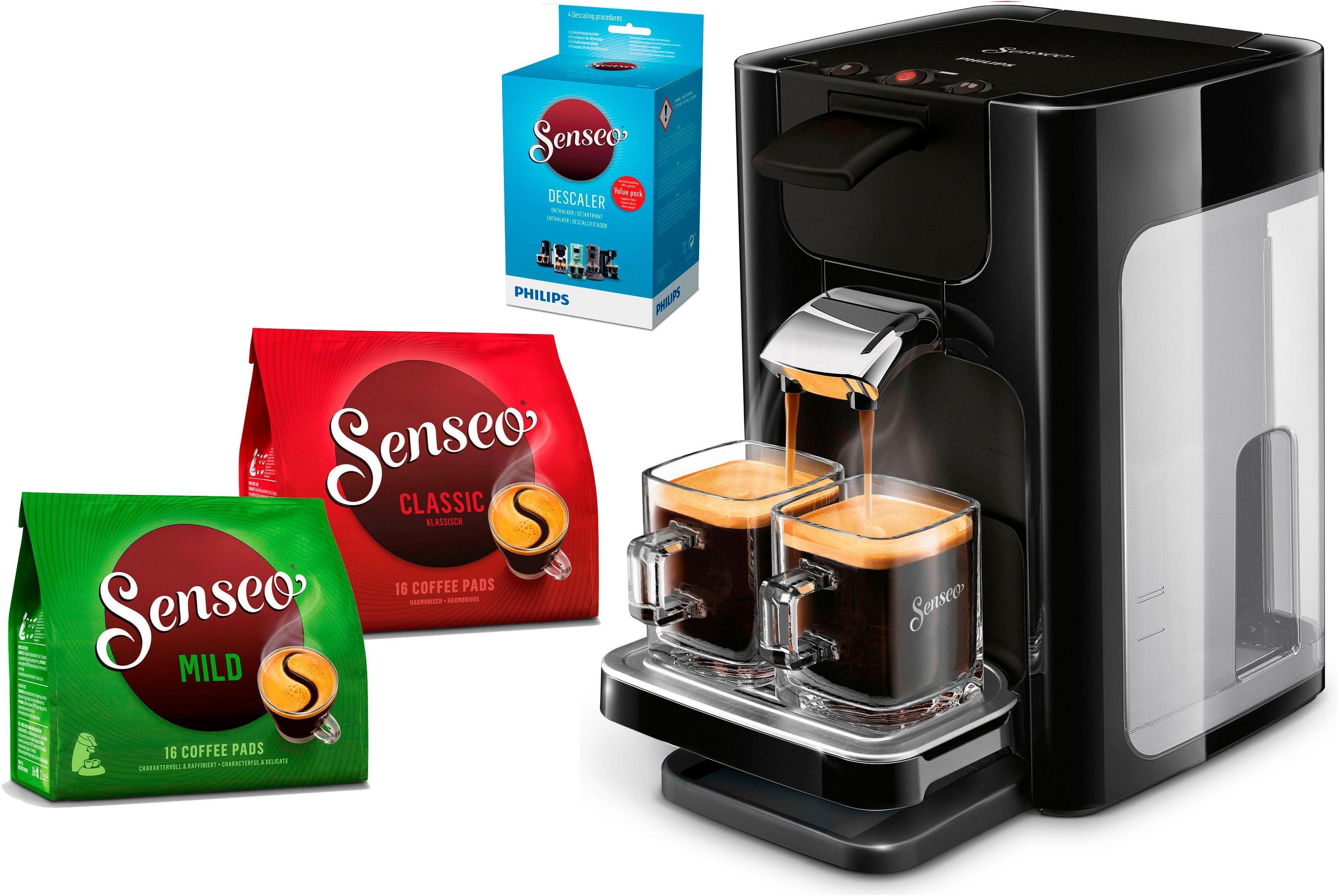 Kaffeepadmaschine ® Quadrante HD7865/60, inkl. Gratis-Zugaben im Wert von 14,- UVP