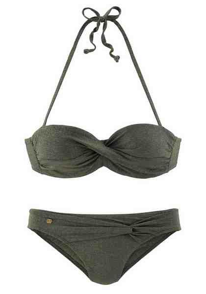 Jette Bügel-Bandeau-Bikini