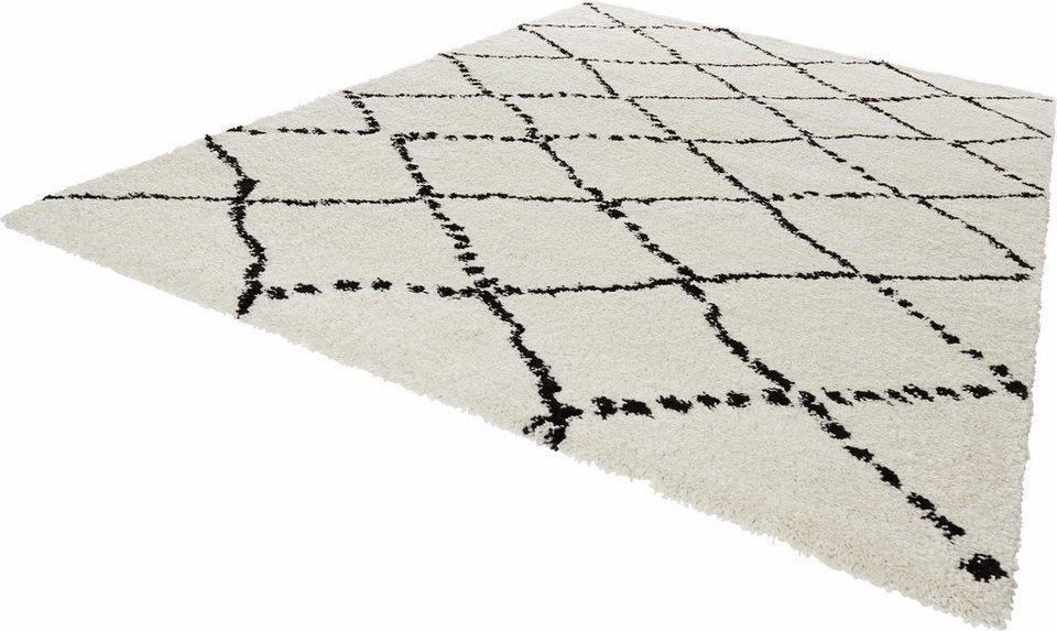 Hochflor Teppich Hash Mint Rugs Rechteckig Hohe 35 Mm Online
