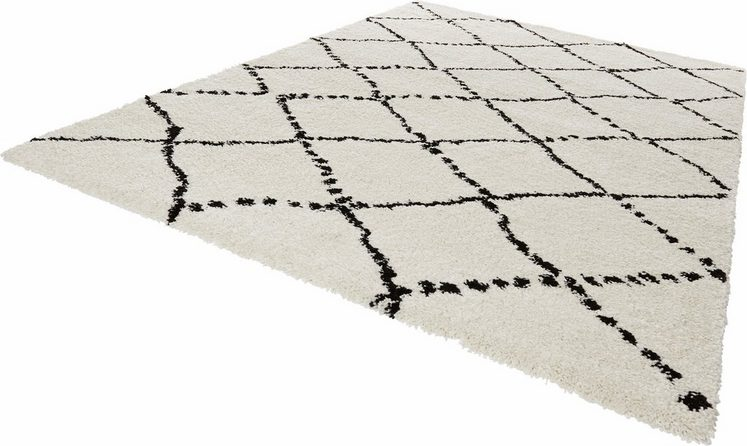 Hochflor-Teppich »Hash«, MINT RUGS, rechteckig, Höhe 35 mm