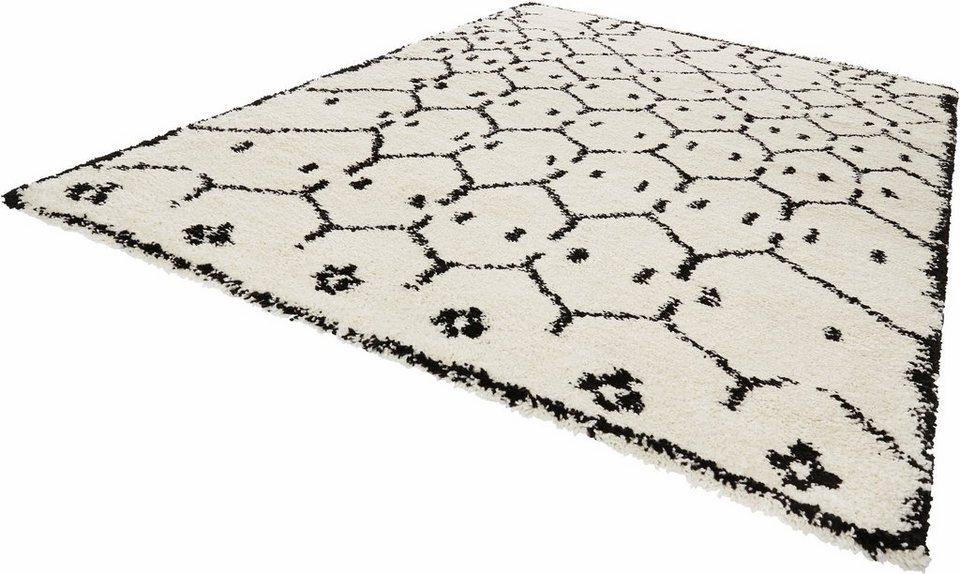 Hochflor Teppich Frame Mint Rugs Rechteckig Hohe 35 Mm Online