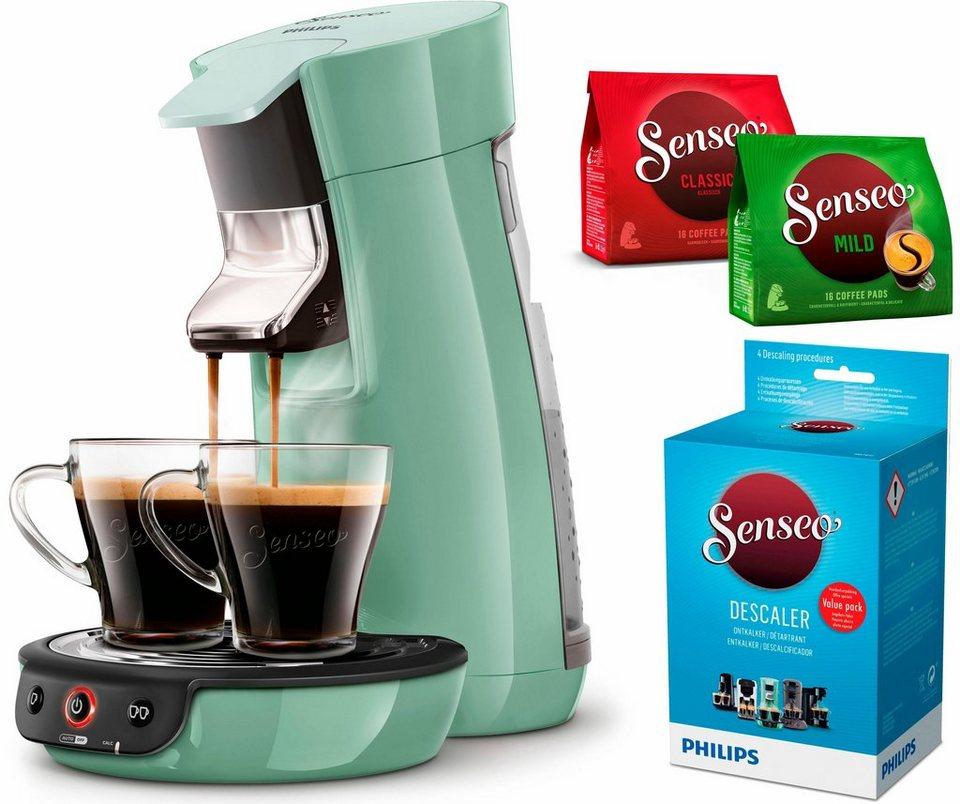 Kaffeepadmaschinen  Senseo Kaffeepadmaschine SENSEO® Viva Café HD7829/10, inkl. Gratis ...