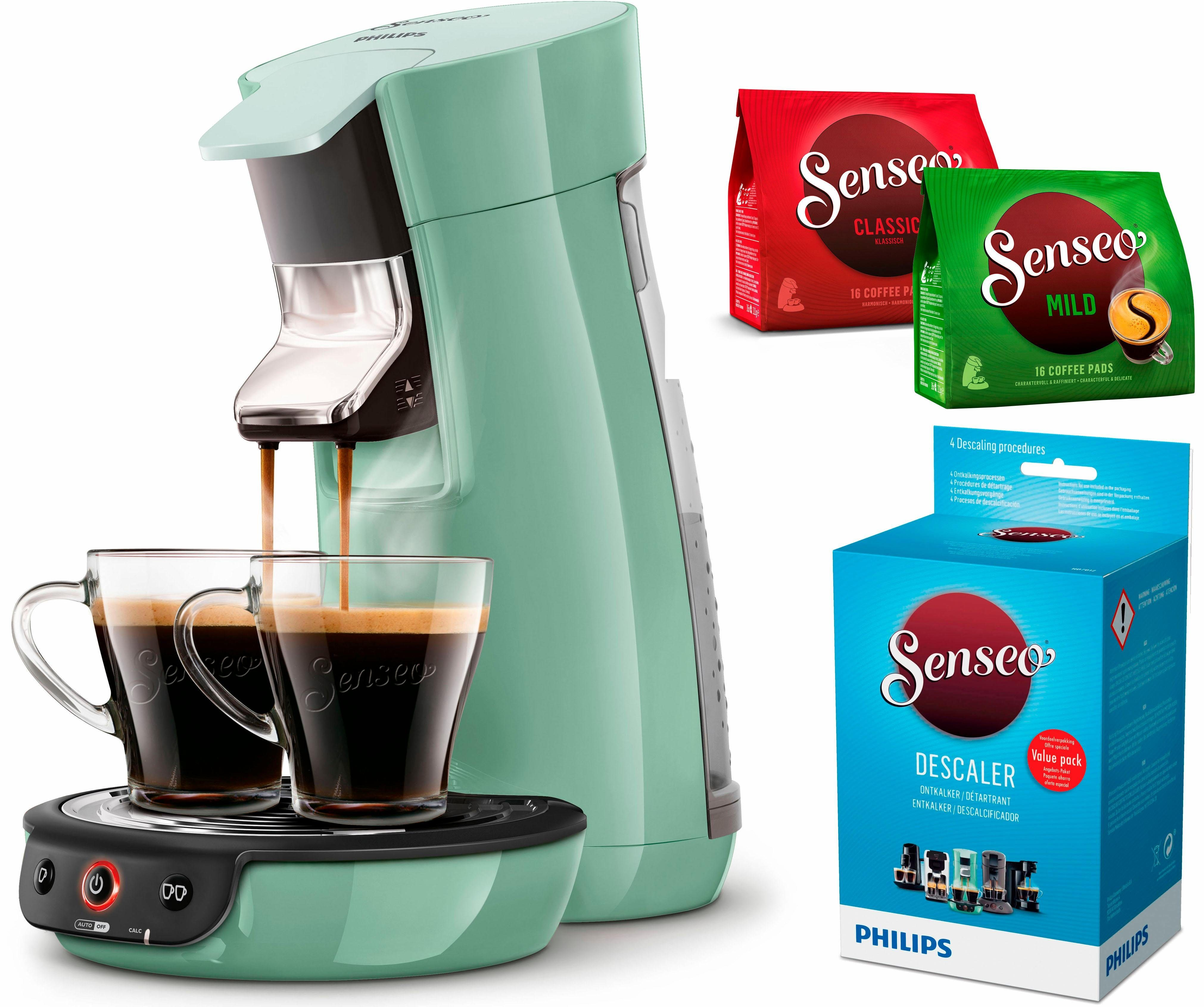 Senseo Kaffeepadmaschine SENSEO® Viva Café HD7829/10, inkl. Gratis-Zugaben im Wert von 14€ UVP