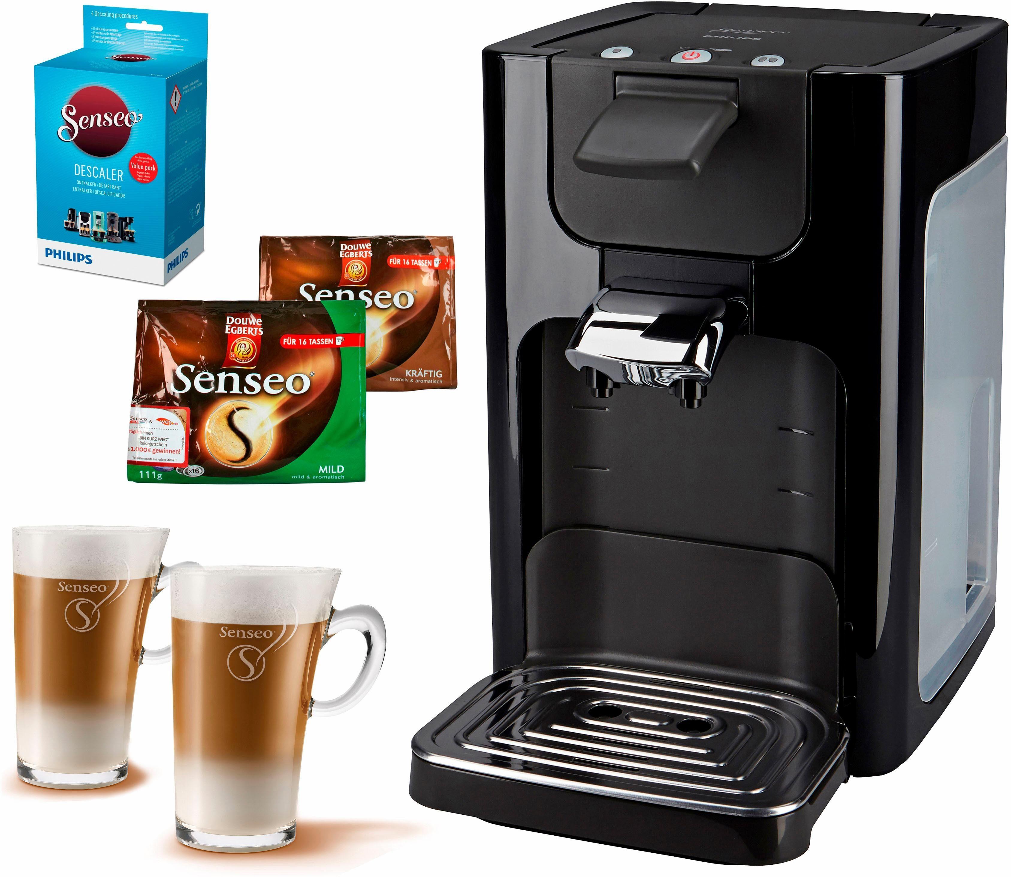 Senseo Kaffeepadmaschine SENSEO® Quadrante HD7863, inkl. Gratis-Zubehör im Wert von 35€ UVP