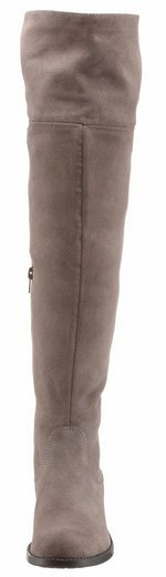 Tamaris Knee Boots, With Shaft For Turning