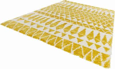 Hochflor Teppich In Gelb Online Kaufen Otto