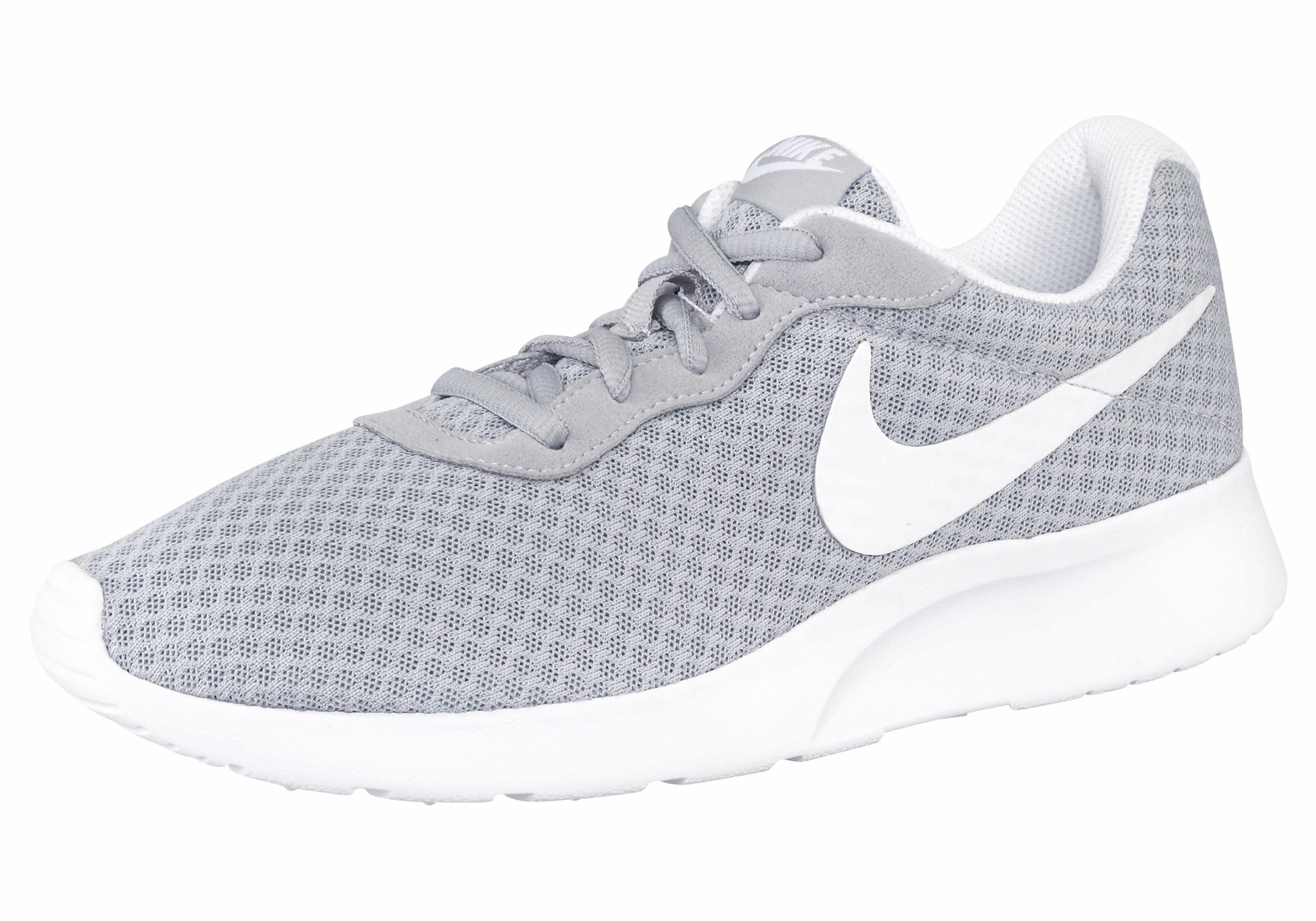 Nike Sportswear »Tanjun« Sneaker, grau, grau-hellgrau-weiß