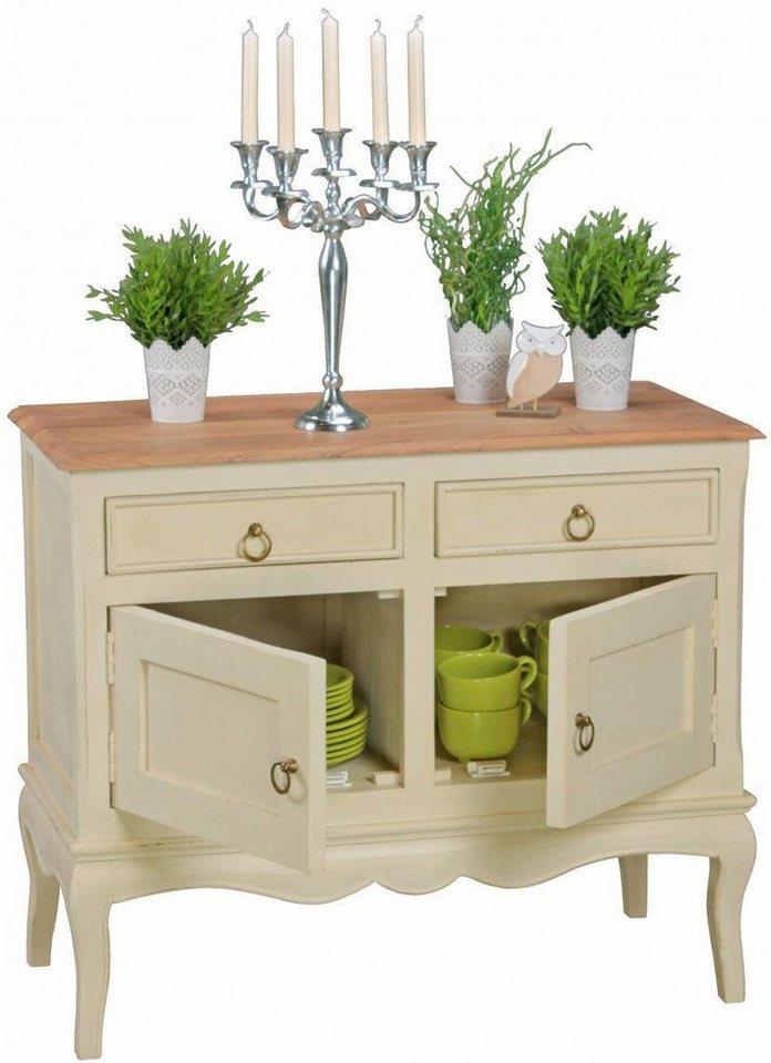 home affaire sideboard alina mit 2 t ren und 2 schubladen online kaufen otto. Black Bedroom Furniture Sets. Home Design Ideas