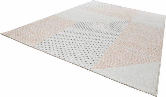 Teppich »Glaze«, MINT RUGS, rechteckig, Höhe 9 mm, Velours