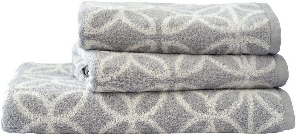 handtuch set dyckhoff retro mit retro blumen muster online kaufen otto. Black Bedroom Furniture Sets. Home Design Ideas