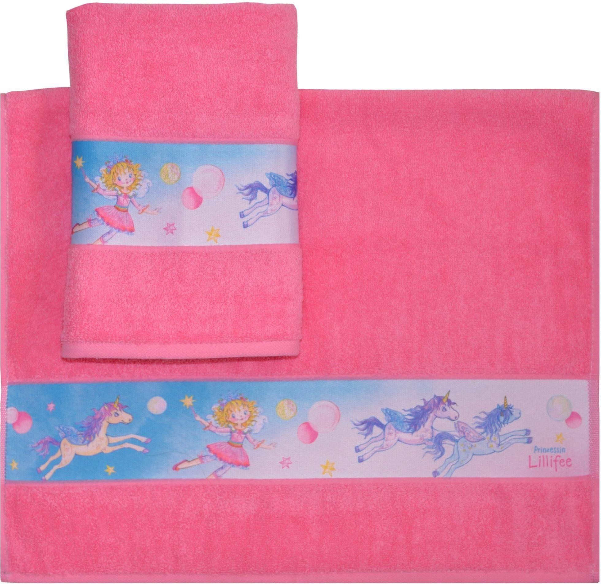 Handtücher »Lillifee«, Prinzessin Lillifee, mit kindlichen Motiven