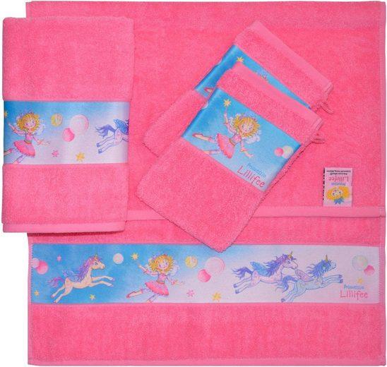 Prinzessin Lillifee Handtuch Set »Lillifee« (Set, 4-tlg), mit kindlichen Motiven