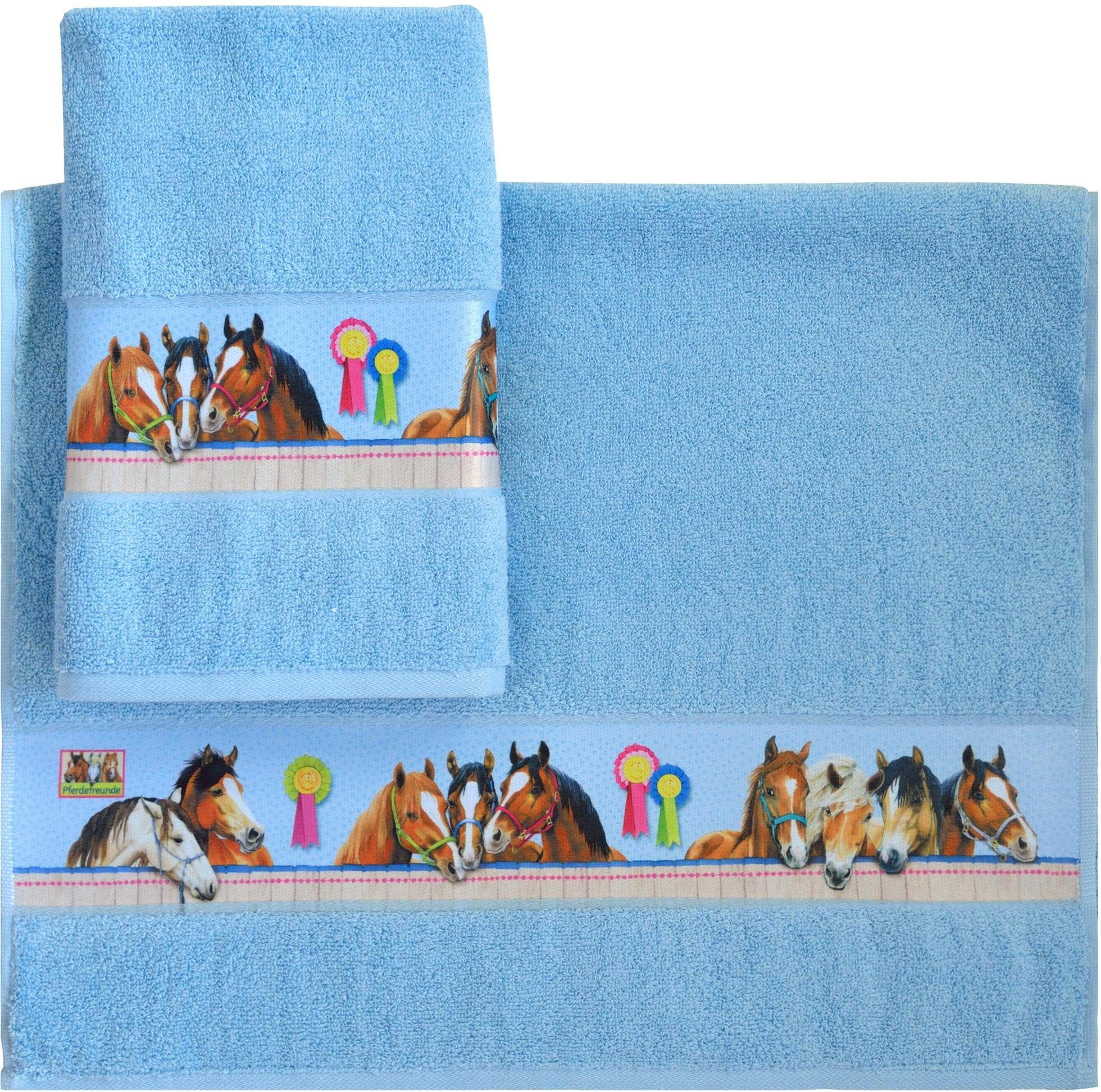 Handtücher »Horse«, Pferdefreunde, mit Pferde Motiven