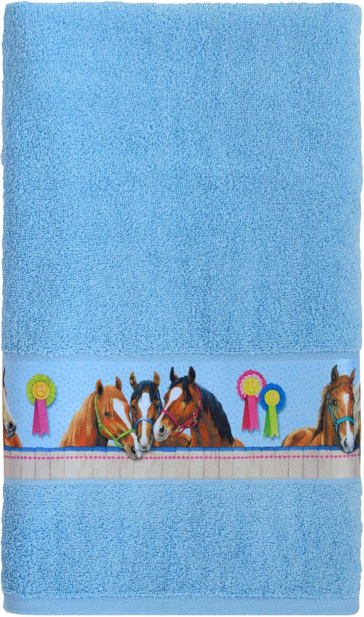 Badetuch »Horse«, Pferdefreunde, mit Pferde Motiven