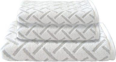 Dyckhoff Handtuch Set »Stripes«, mit Muster und Bordüre versehen