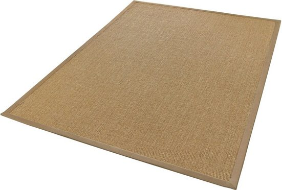Sisalteppich »Mara S2«, Dekowe, rechteckig, Höhe 5 mm, Obermaterial: 100% Sisal, Wunschmaß