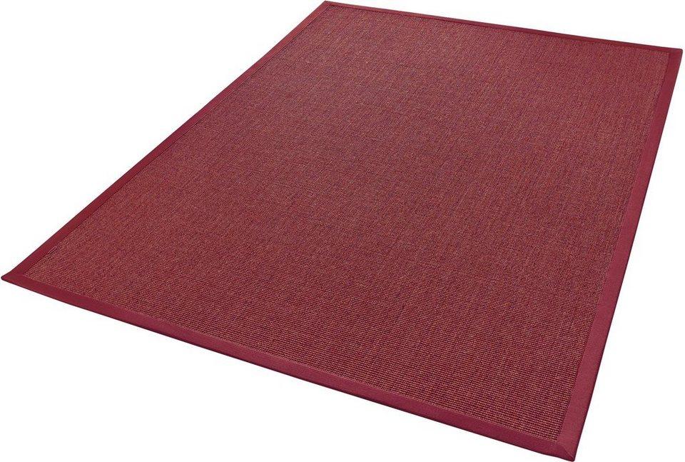 sisalteppich mara s2 dekowe rechteckig h he 5 mm. Black Bedroom Furniture Sets. Home Design Ideas