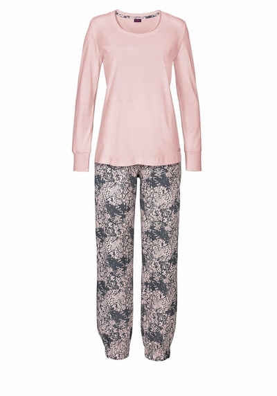Hornow-Wadelsdorf Angebote Buffalo Pyjama mit gemusterter Hose & passendem Langarmshirt