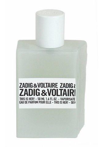 ZADIG & VOLTAIRE ZADIG & VOLTAIRE Eau de Parfum &qu...