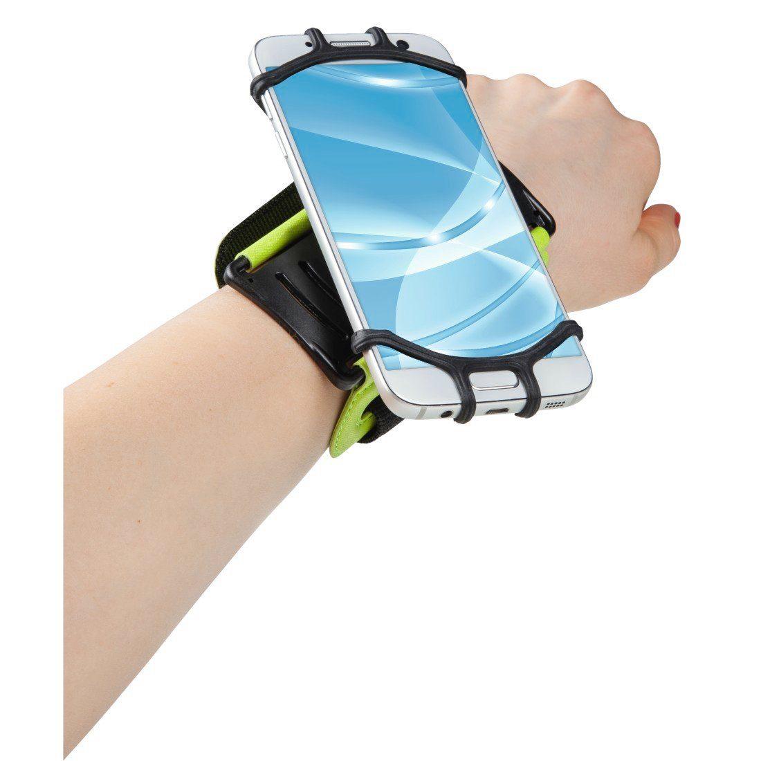 Hama Smartphone Sport Armband, Armtasche für 4,0-5,5 Zoll Geräte »Sportarmband für den Unterarm«