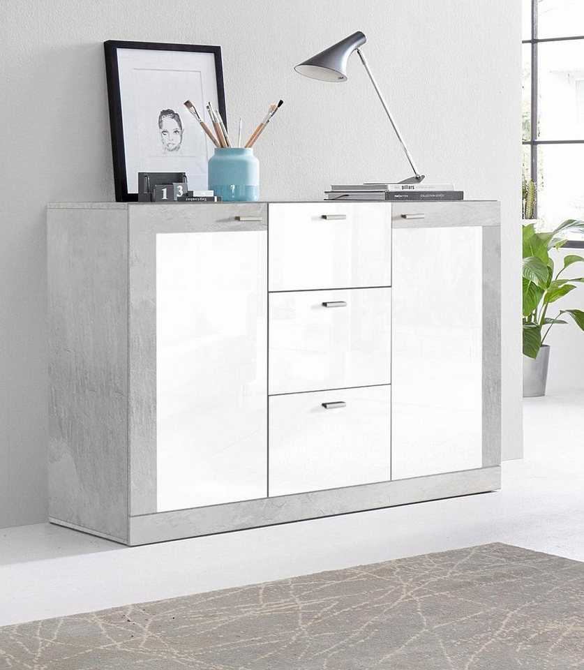 sideboard breite 115 cm online kaufen otto. Black Bedroom Furniture Sets. Home Design Ideas