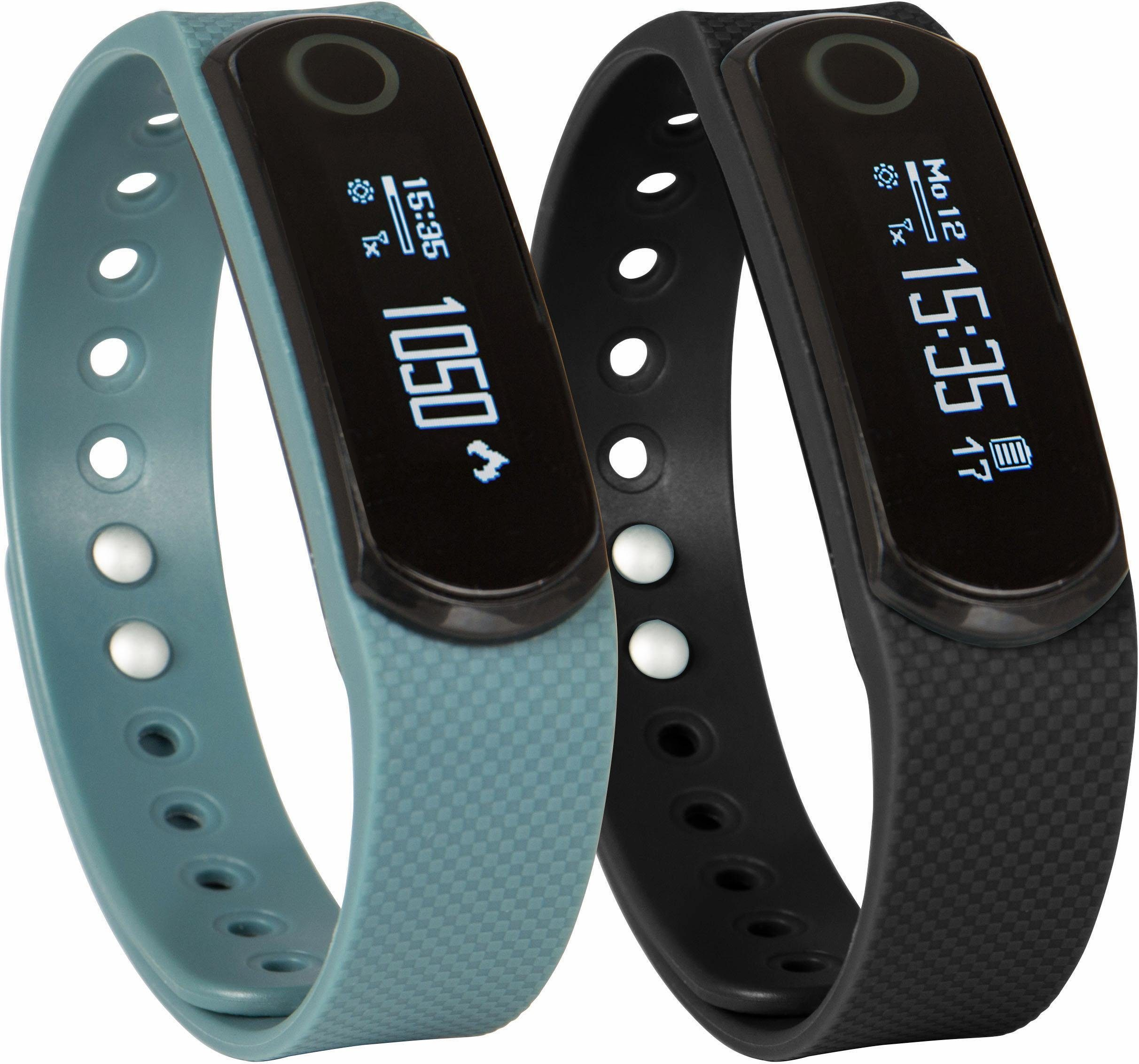 Sportplus Activity Tracker, inklusive 2 Armbänder, »Q-Band EX SP-AT-BLE-40«