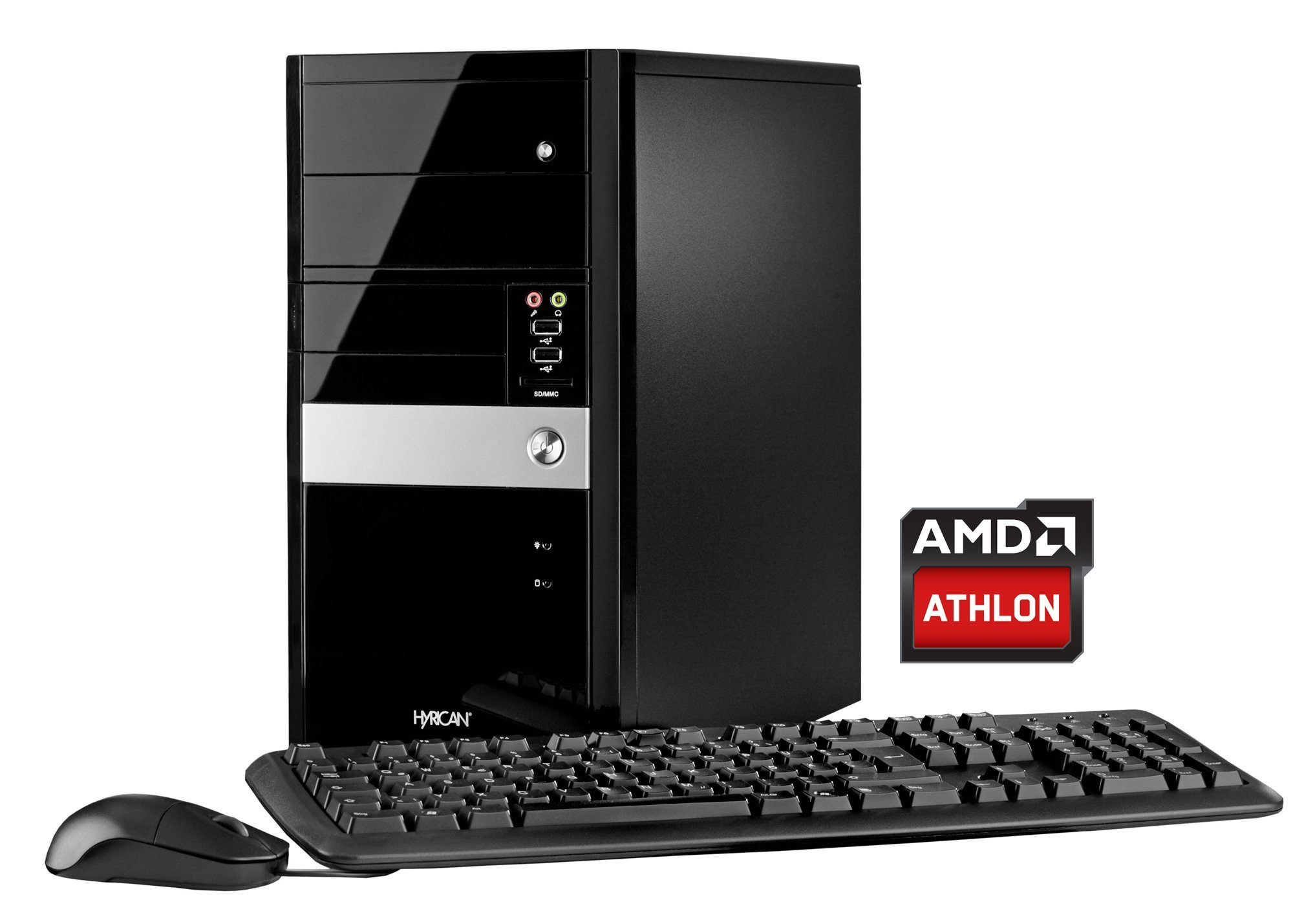 HYRICAN PC AMD Athlon X4 860K, 8GB, 120GB SSD, 1TB HDD , R7 240 »Multimedia PC 5540«