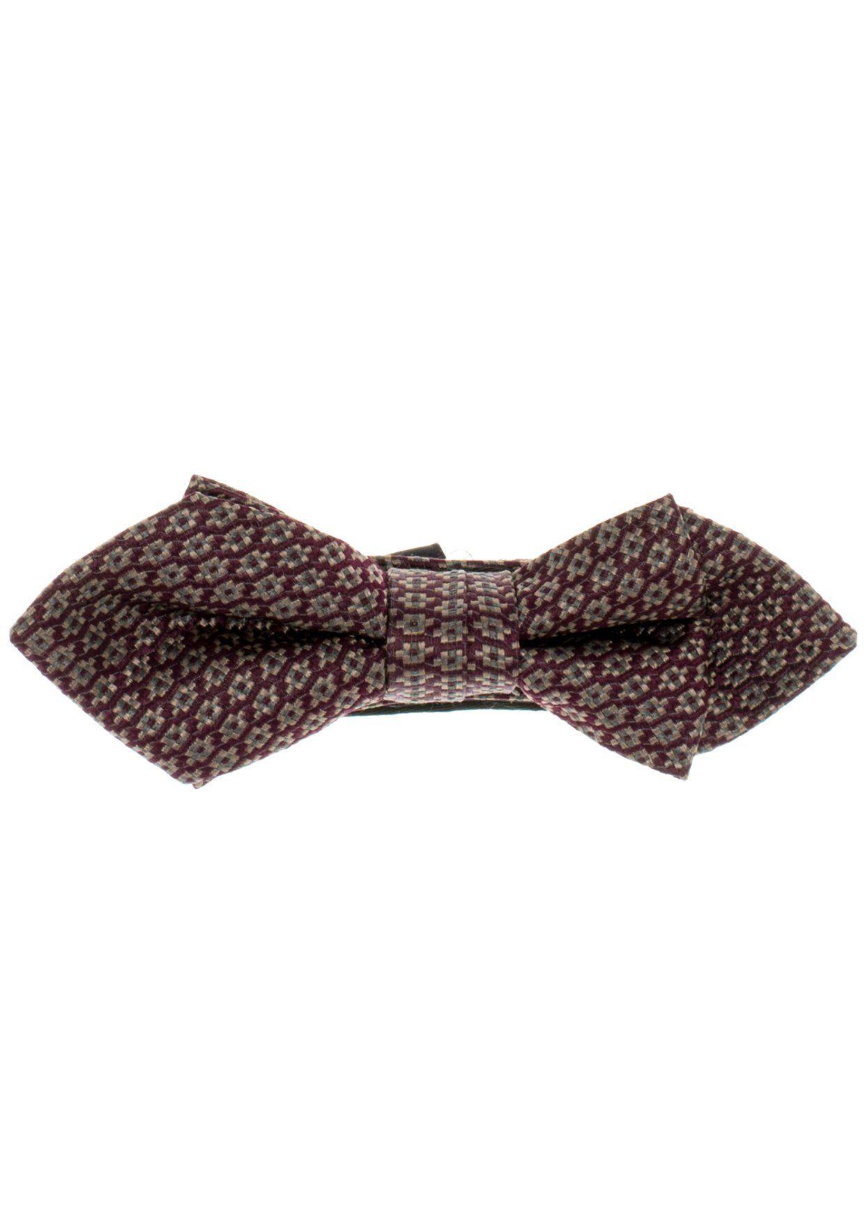 ETERNA Krawatte »Fliege gemustert«