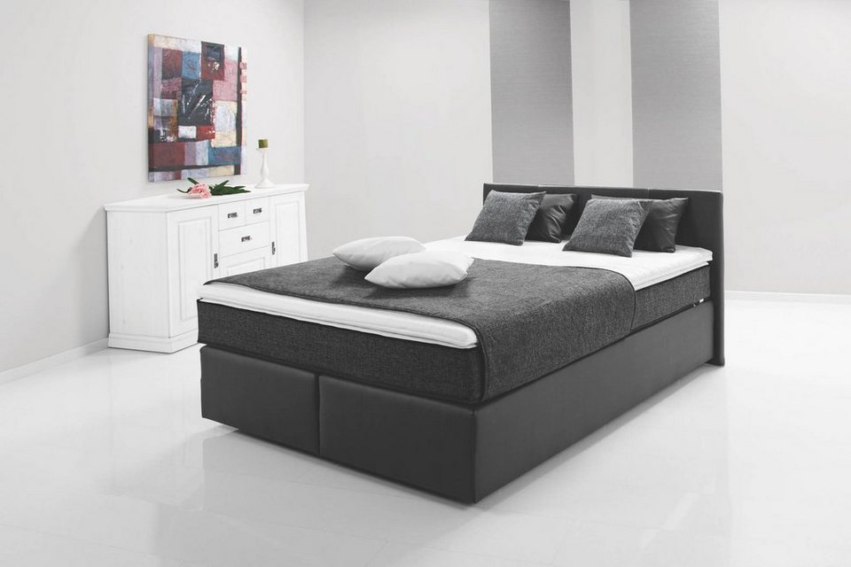 hti living boxspringbett peach i online kaufen otto. Black Bedroom Furniture Sets. Home Design Ideas