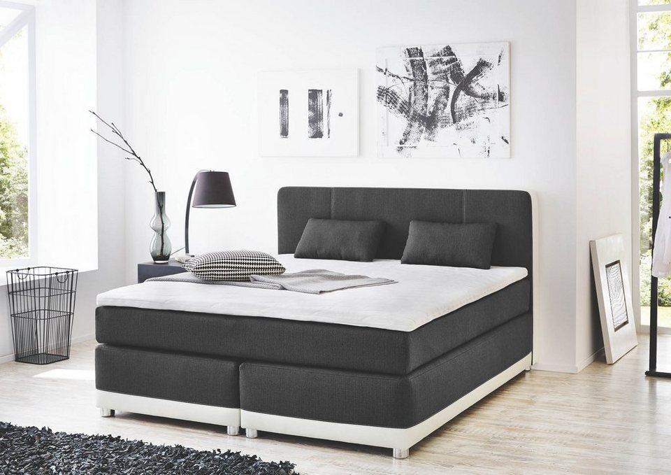 hti living boxspringbett tivoli online kaufen otto. Black Bedroom Furniture Sets. Home Design Ideas