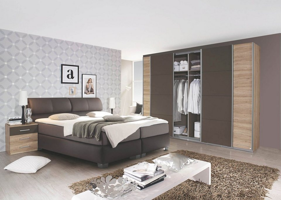 hti living boxspringbett vermont online kaufen otto. Black Bedroom Furniture Sets. Home Design Ideas