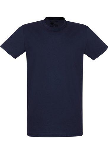 Trigema T-Shirt - Slim Fit »van 100% supergekamde katoen«