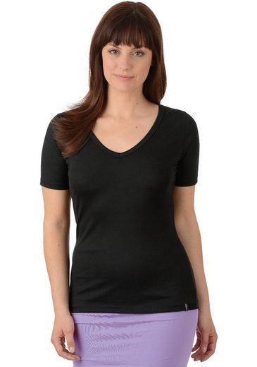 Trigema V-shirt Made Of Cotton / Elastane