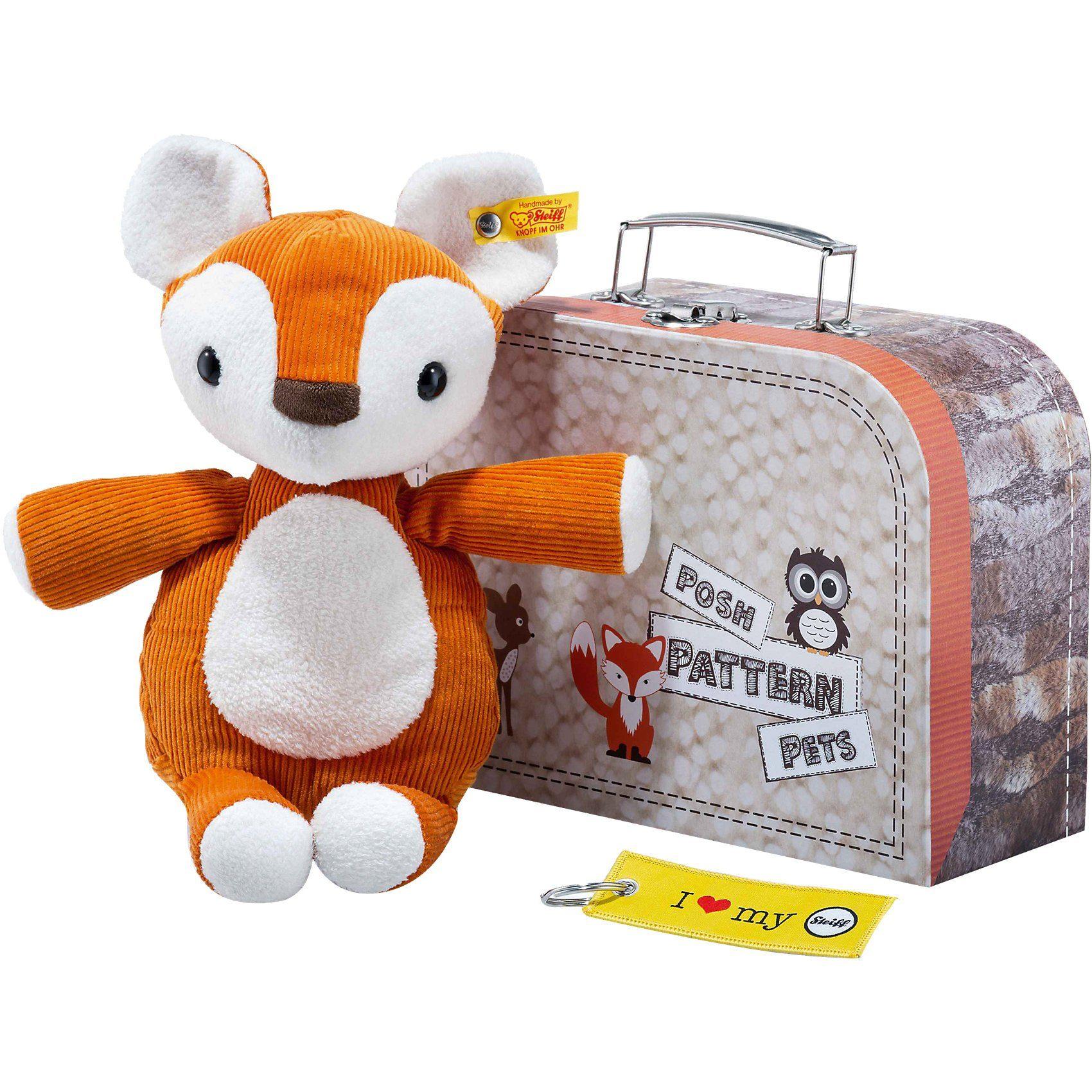 Steiff Fuchs im Koffer