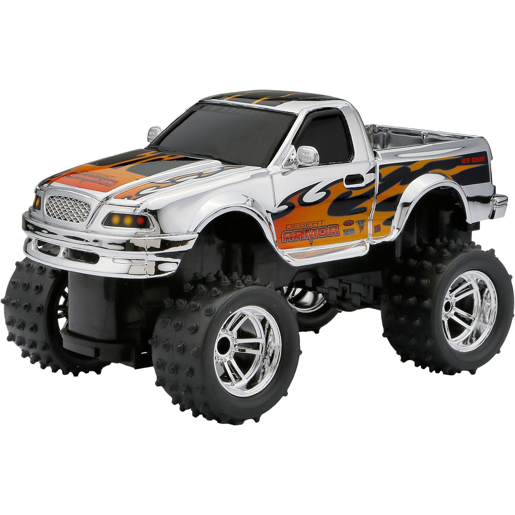New Bright RC Fahrzeug CHROME LIGHTNING PICK UP TRUCK