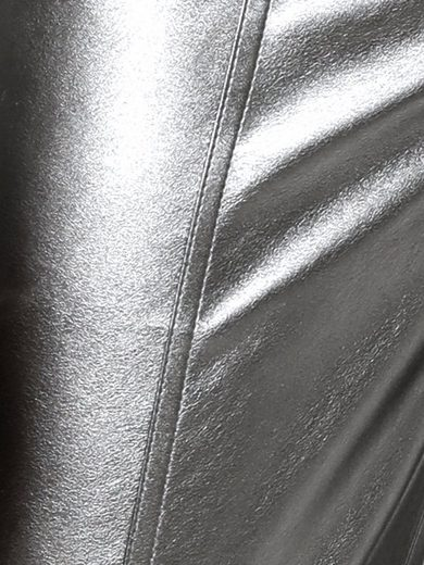 Patrizia Dini By Heine Faux Leather Pants Shiny