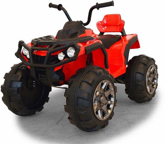 Jamara Elektro-Kinderquad »JAMARA KIDS Ride On Protector Quad rot 12V«, Belastbarkeit 30 kg