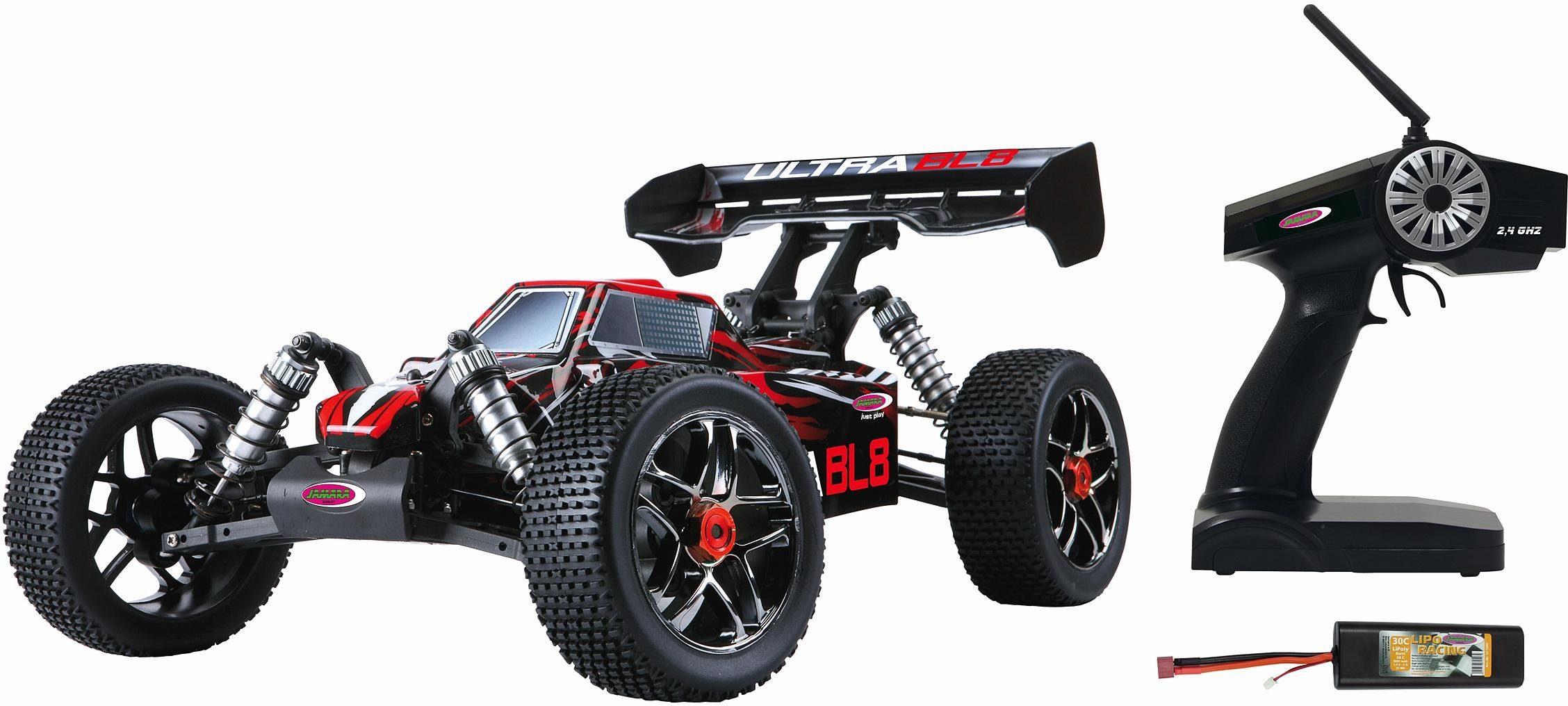 JAMARA RC Buggy, »Ultra BL8 LIPO 4WD, 1:8, 2,4 GHz«