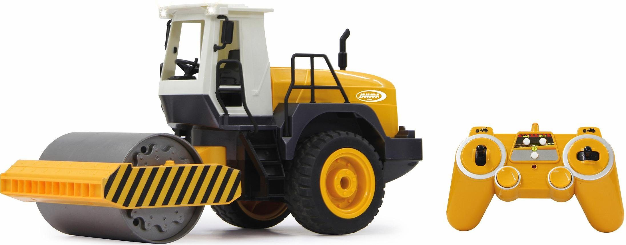 JAMARA RC Baustellenfahrzeug, »Straßenwalze, 1:20, 2,4 GHz«