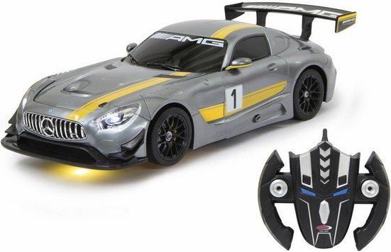 Jamara RC-Fahrzeug »Mercedes AMG GT3 transformable«, 2in1 Roboter und Auto
