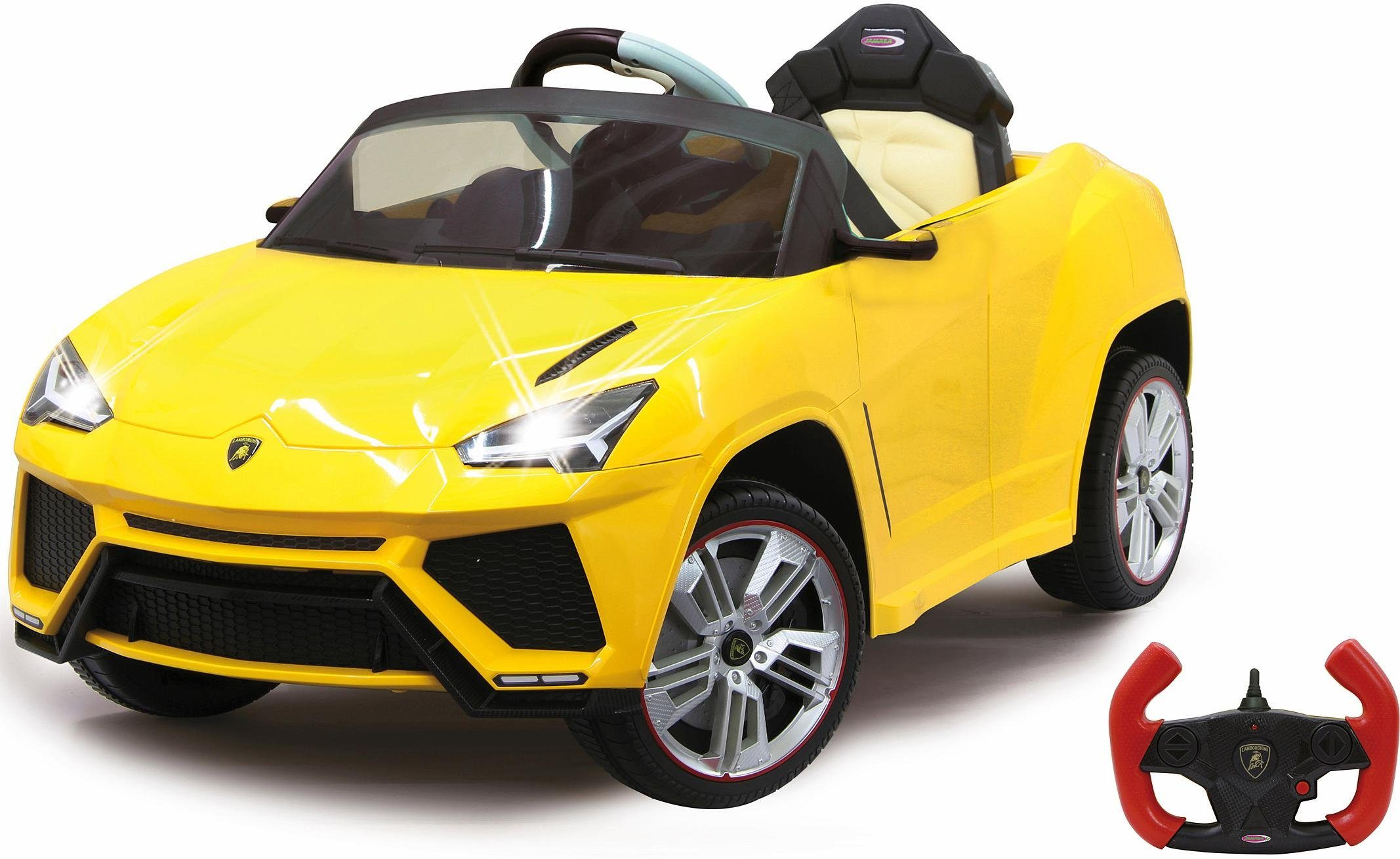 JAMARA Elektrofahrzeug für Kinder, »JAMARA KIDS Ride On Lamborghini Urus gelb 6V«