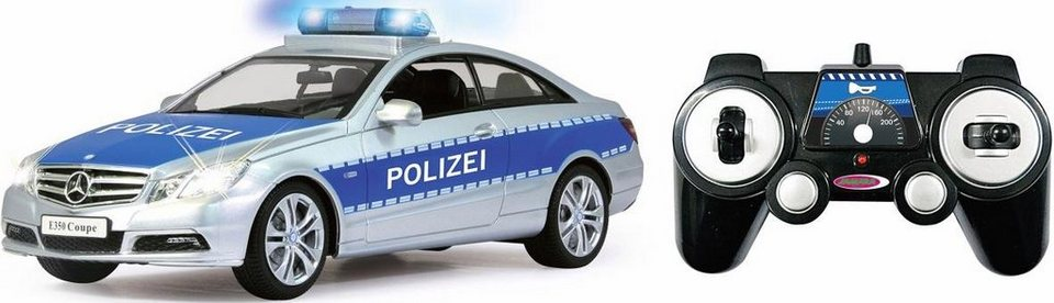 jamara rc polizeiauto mercedes e350 coupe polizei 1 16. Black Bedroom Furniture Sets. Home Design Ideas