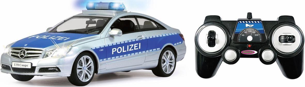 JAMARA RC Polizeiauto, »Mercedes E350 Coupe Polizei, 1:16, 2,4 GHz«