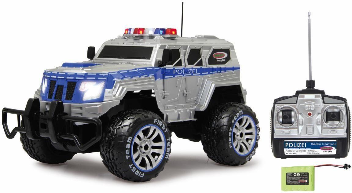 JAMARA RC Komplettset Polizeiauto, »Polizei Panzerwagen, 1:12, 27 MHz«