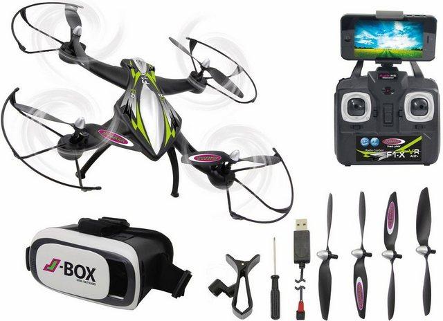 Ferngesteuerte Drohne F1X mit Virtual Re auf rc-flugzeug-kaufen.de ansehen