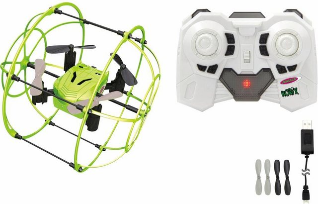 RC Drohne Jamara Korix mit Schutzkäfig auf rc-flugzeug-kaufen.de ansehen