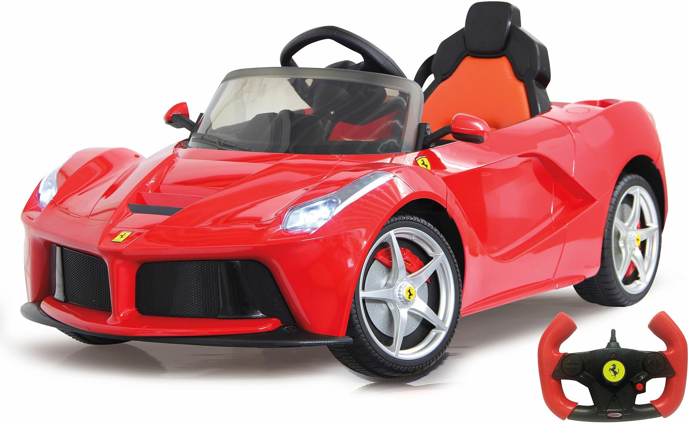 JAMARA Elektrofahrzeug für Kinder, »JAMARA KIDS Ride On Ferrari LaFerrari rot 6V«