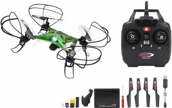 Jamara RC-Quadrocopter »CamAlu Altitude«, mit HD Kamera und Bildschirm