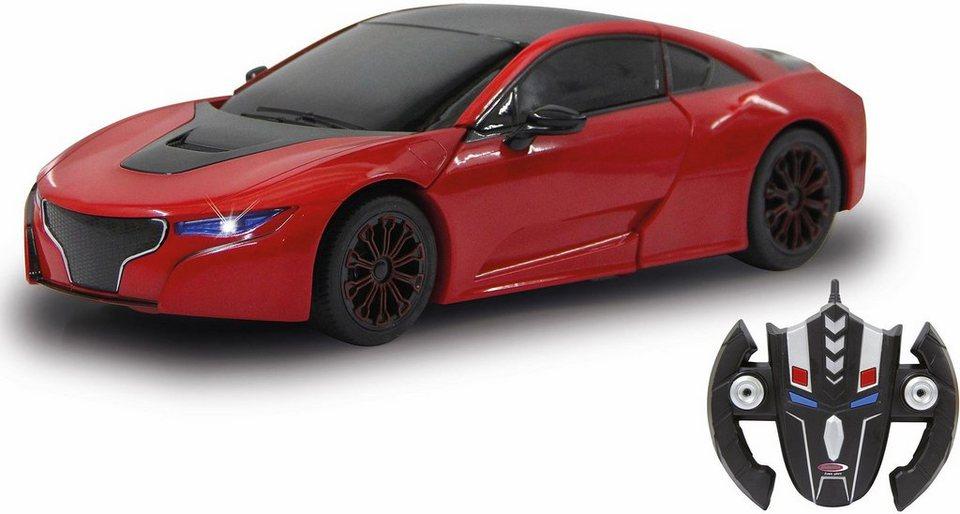 jamara 2in1 roboter und auto robicar transformable 1 14 2 4ghz rot online kaufen otto. Black Bedroom Furniture Sets. Home Design Ideas